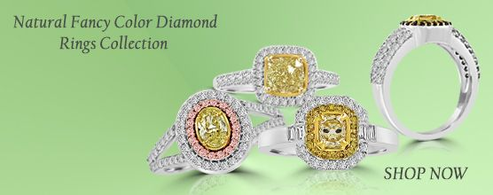 Colorstar Fancy Color Diamond Ring Collection