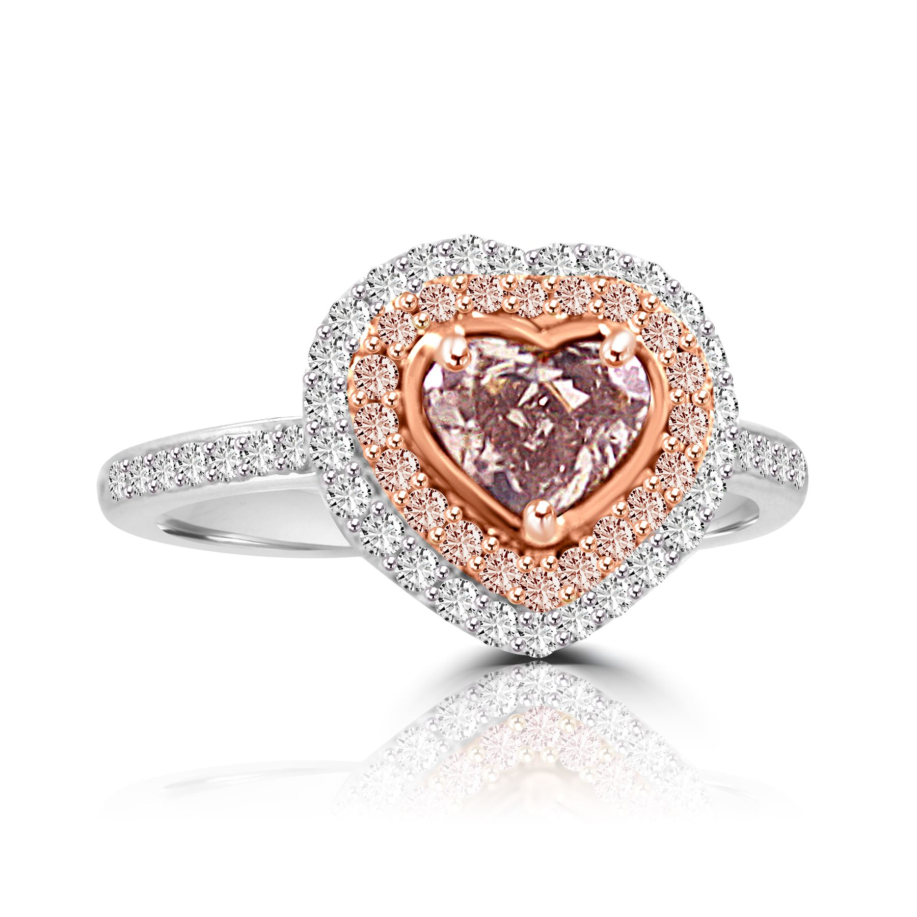 Colorstar Fancy Pink Diamond Ring